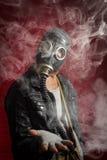 De Rook van het mensengasmasker royalty-vrije stock afbeelding