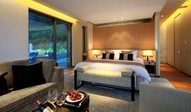 ¼ Œ de roomsï de l'hôtel de luxe de la Chine Photographie stock