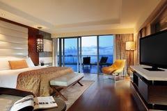 ¼ Œ de roomsï de l'hôtel de luxe de la Chine Photographie stock libre de droits