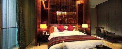 ¼ Œ de roomsï de l'hôtel de luxe de la Chine Image libre de droits