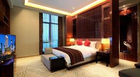 ¼ Œ de roomsï de l'hôtel de luxe de la Chine Image stock