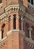 De Rooms-katholieke kerk in Lodz Stock Afbeelding
