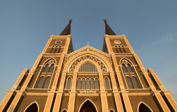 De rooms-katholieke Kerk, Thailand. Stock Afbeeldingen