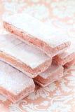 De rosé van het koekje Royalty-vrije Stock Afbeeldingen