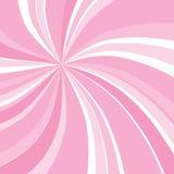 De rose rayon de soleil swirly Images libres de droits