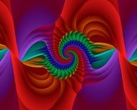 De Rotatie van de regenboog Royalty-vrije Stock Afbeelding