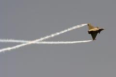 De rotaties van de Tyfoon van Eurofighter royalty-vrije stock foto's