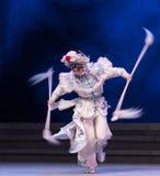 """de roteren-zesde overstromingen gouden heuvel-Kunqu Opera""""Madame Witte Snake† van het handelingswater Royalty-vrije Stock Afbeelding"""