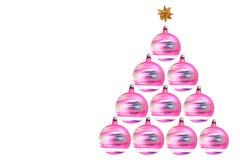 De roterende boom van Kerstmisdecoratie Stock Fotografie