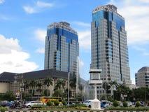 De Rotonde van bankindonesië in Djakarta royalty-vrije stock afbeelding