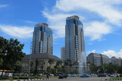 De Rotonde van bankindonesië in Djakarta royalty-vrije stock foto