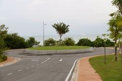 De rotonde van het verkeer stock fotografie