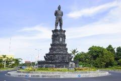 De Rotonde van Ngurah Rai van Gusti, Bali, Indonesië stock foto's