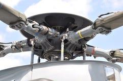 De rotor van de helikopter royalty-vrije stock fotografie