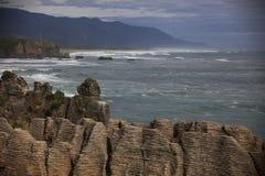De rots NZ van de pannekoek Royalty-vrije Stock Foto