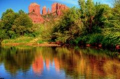 De Rots Sedona Arizona van de kathedraal stock foto