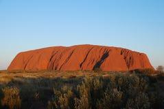 De Rots van Ayers - Uluru Stock Foto's