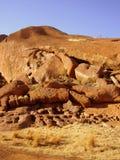 De Rots van Ayers (Uluru) stock afbeeldingen