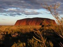De Rots van Ayers - Uluru Stock Afbeeldingen