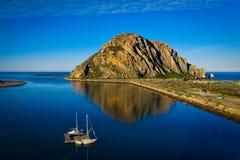 De Rots van de Baai van Morro stock foto