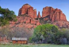 De Rots van Catherdal in Sedona Arizona Royalty-vrije Stock Fotografie