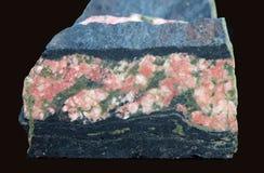 De rots van de oudste Aarde - Acasta-Gneis, 4030 Ma stock foto