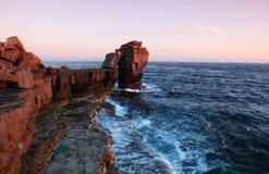 De rots van de preekstoel Stock Foto