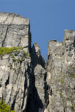 De rots van de preekstoel Stock Foto's