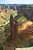 De Rots van de spin in Canyon DE Chelly Stock Fotografie