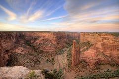 De Rots van de spin, Canyon DE Chelly National Monument Stock Foto