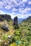 De Rots van de top, Mpumalanga Stock Afbeelding