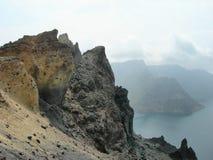 De Rots van de vulkaan Royalty-vrije Stock Afbeeldingen