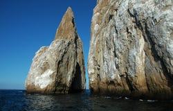 De Rots van de Galapagos, de verrotting van de Galapagos royalty-vrije stock fotografie