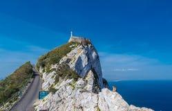 De rots van Gibraltar Stock Foto