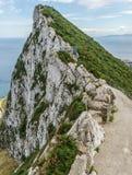 De rots van Gibraltar Stock Afbeelding