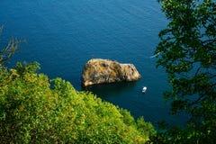 De rots van heilige George Stock Foto
