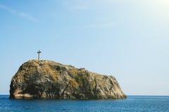 De rots van heilige George Stock Afbeelding