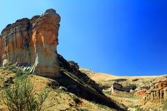 De rots van het Brandwagzandsteen royalty-vrije stock foto