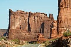 De Rots van het Huis van het Hof overspant Nationaal Park royalty-vrije stock afbeeldingen