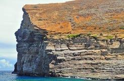 De Rots van Lehua in Hawaï Stock Afbeelding