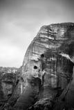 De rots van Meteora in Griekenland royalty-vrije stock afbeelding