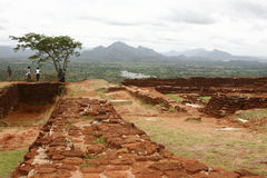 De Rots van Sigiriya Royalty-vrije Stock Foto's