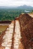 De Rots van Sigiriya Stock Afbeelding