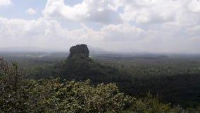De rots van Sigiriya Stock Afbeeldingen