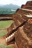 De Rots van Sigiriya, Sri Lanka stock fotografie