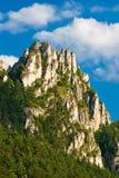 De rots van Sulov. Stock Afbeeldingen