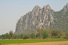 Rotsachtige Berg Stock Foto