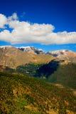 De Rotsachtige Bergen van Colorado royalty-vrije stock foto's