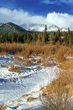De Rotsachtige Bergen van Colorado in de Winter royalty-vrije stock fotografie