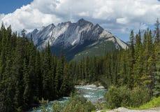 De rotsachtige Mening van de Berg Royalty-vrije Stock Afbeelding